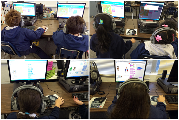 Hour of Code Day 1: 3rd & 5th